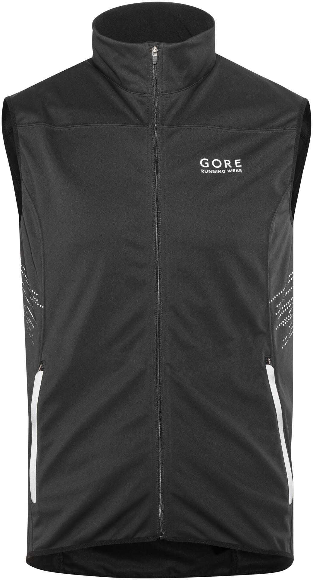 GORE RUNNING MYTHOS Gore Windstopper Jacket Black Herren